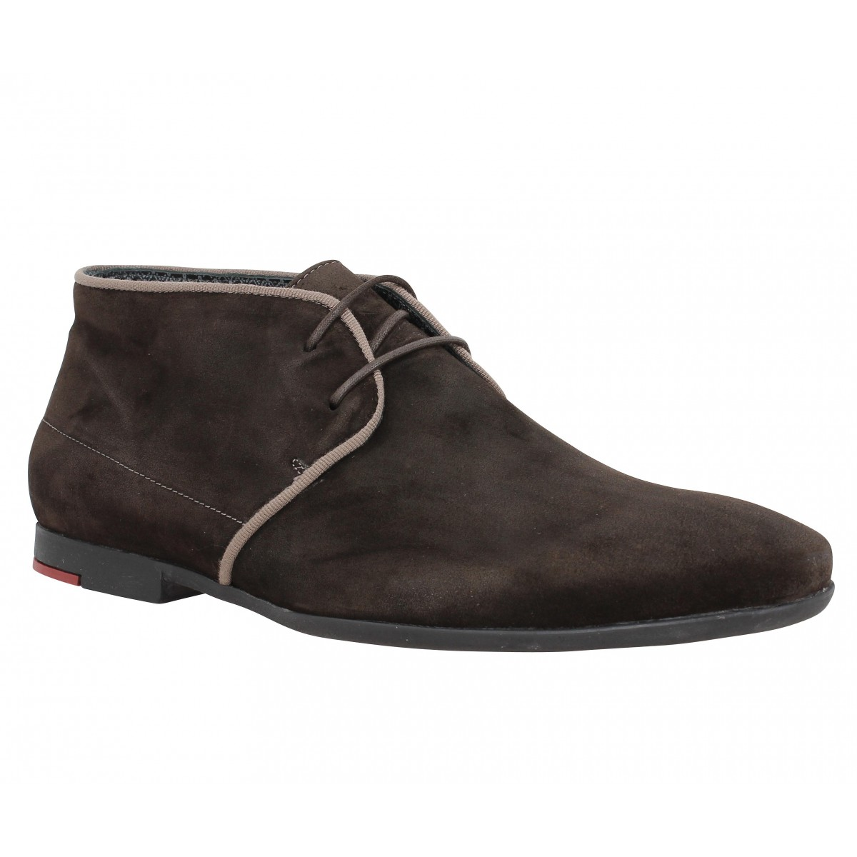 Bottines PAUL & JOE Prayer velours Homme Marron