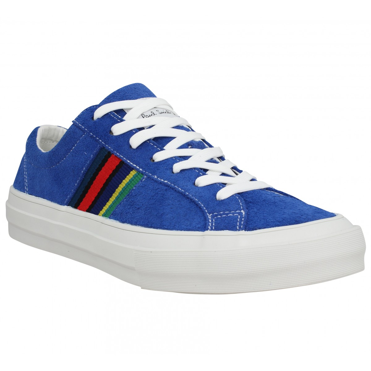 Baskets PAUL SMITH Antilla velours Homme Bleu