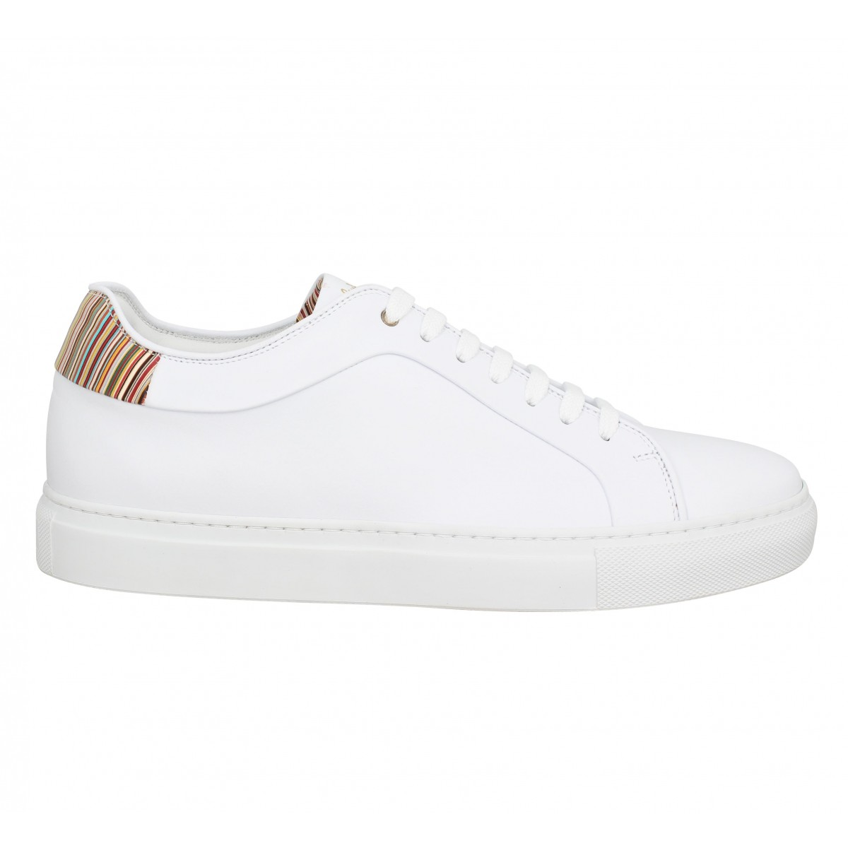 Blanc Chaussures Homme Fanny Smith Cuir Paul Basso InZpq7xw