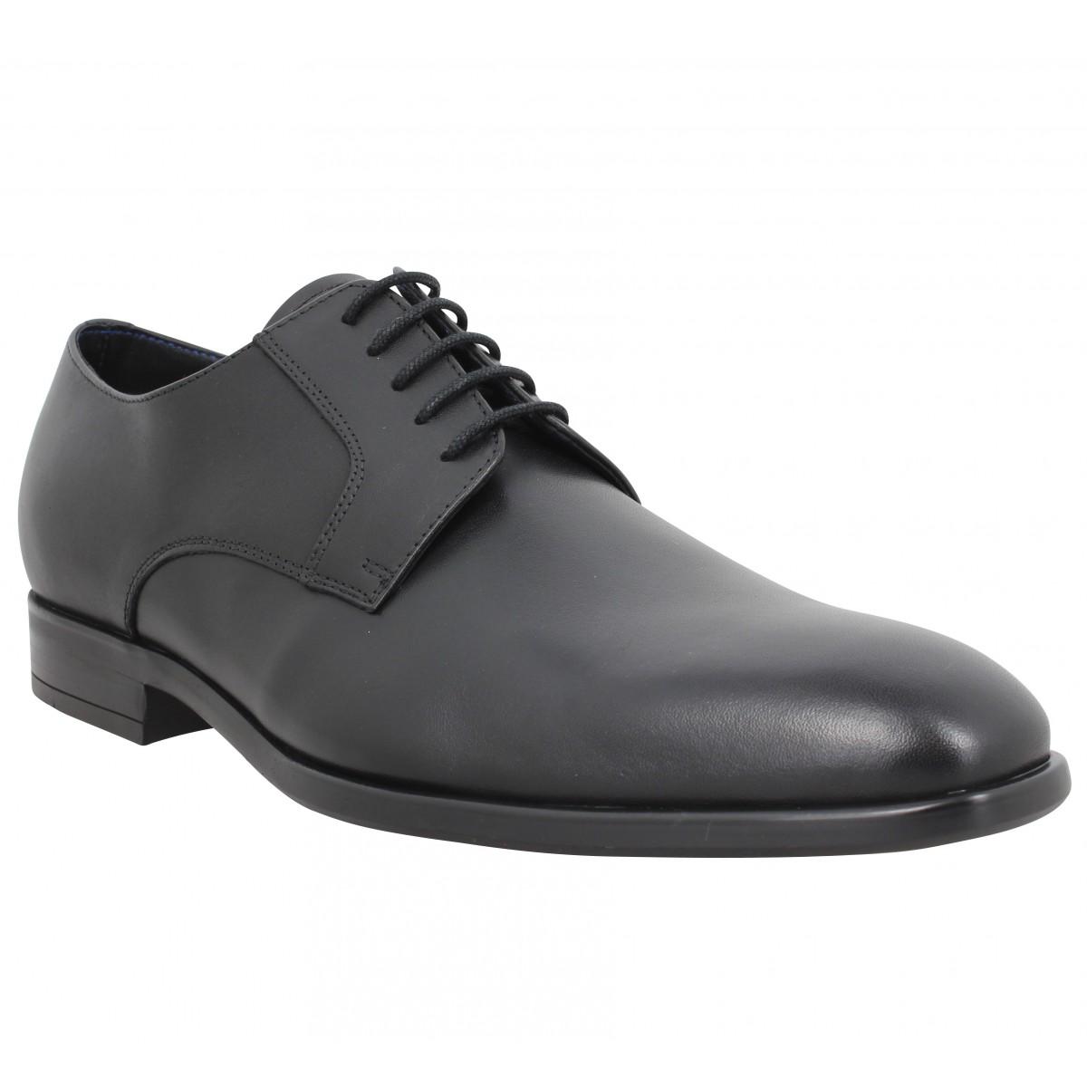 Chaussures à lacets PAUL SMITH Daniel cuir Homme Noir