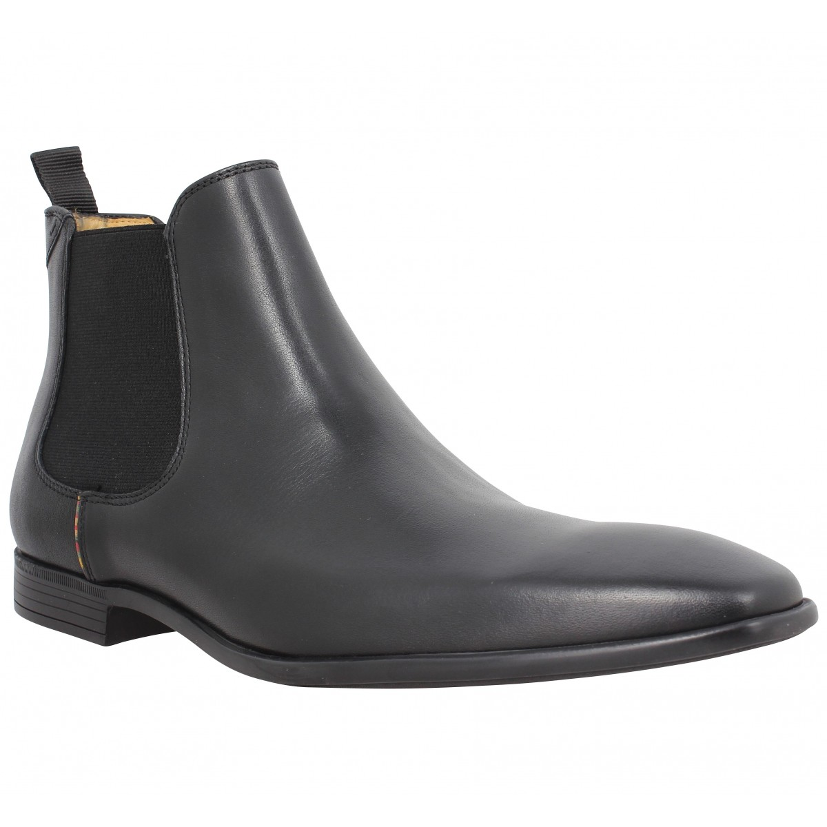 Bottines PAUL SMITH Falconer cuir Homme Black