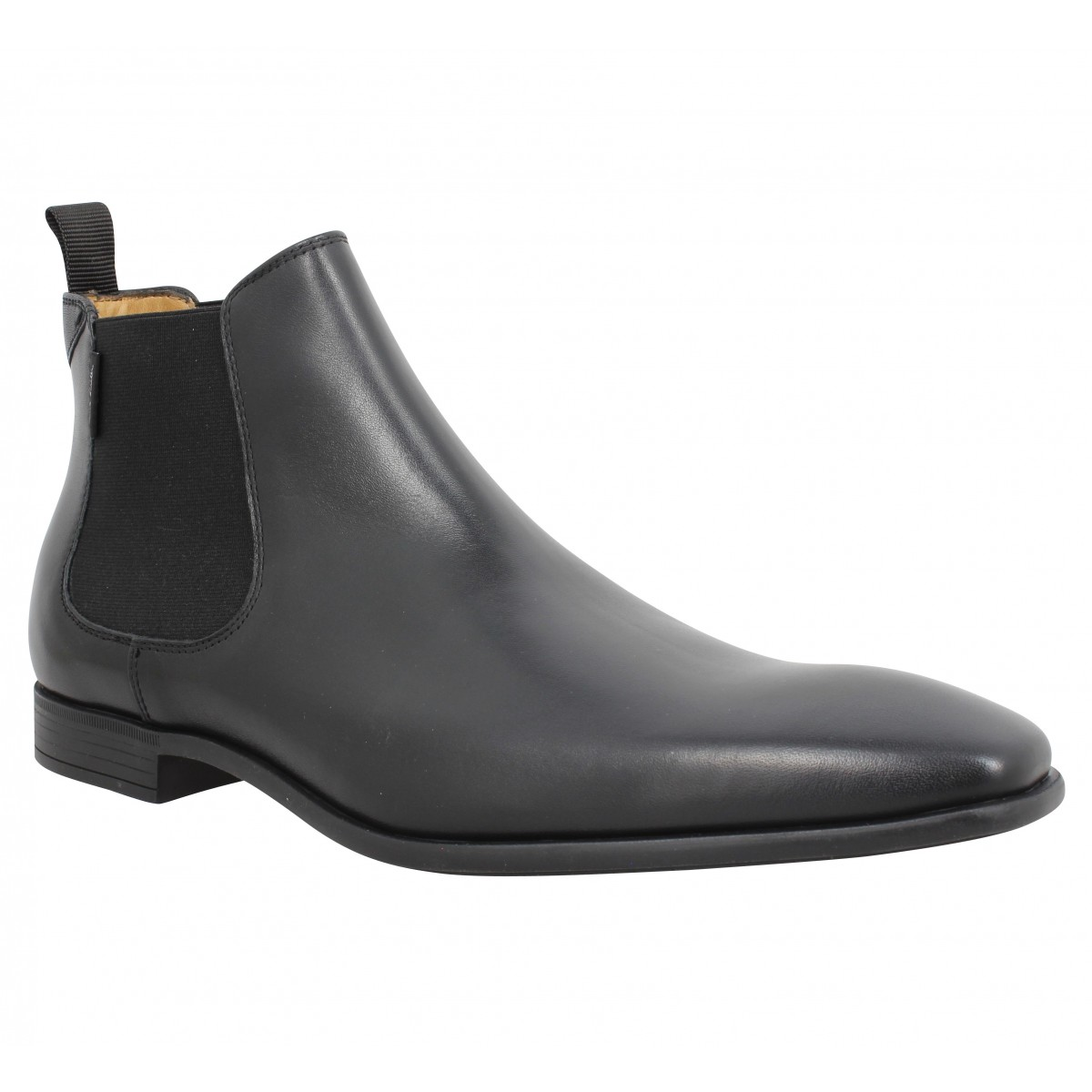 Bottines PAUL SMITH Falconer oxford Homme Noir