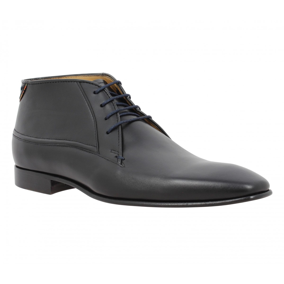 Bottines PAUL SMITH Jay cuir Homme Noir