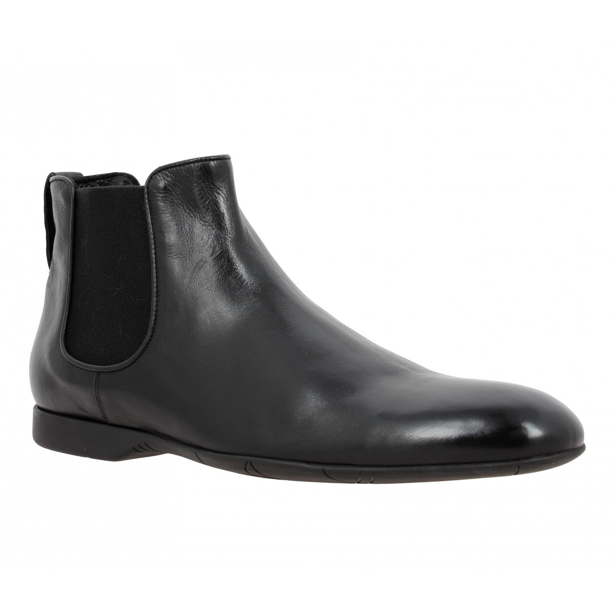 Bottines PAUL SMITH Owen cuir Homme Noir