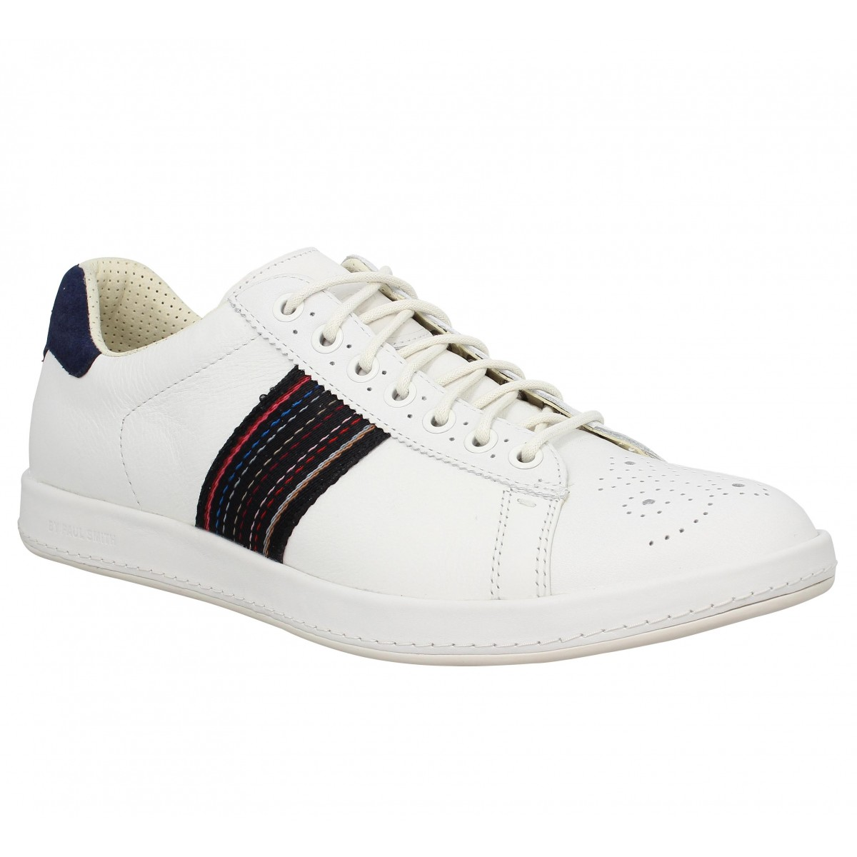 Homme PS By Paul Smith Sneakers Rabbit Cuir Noir Plus Grand