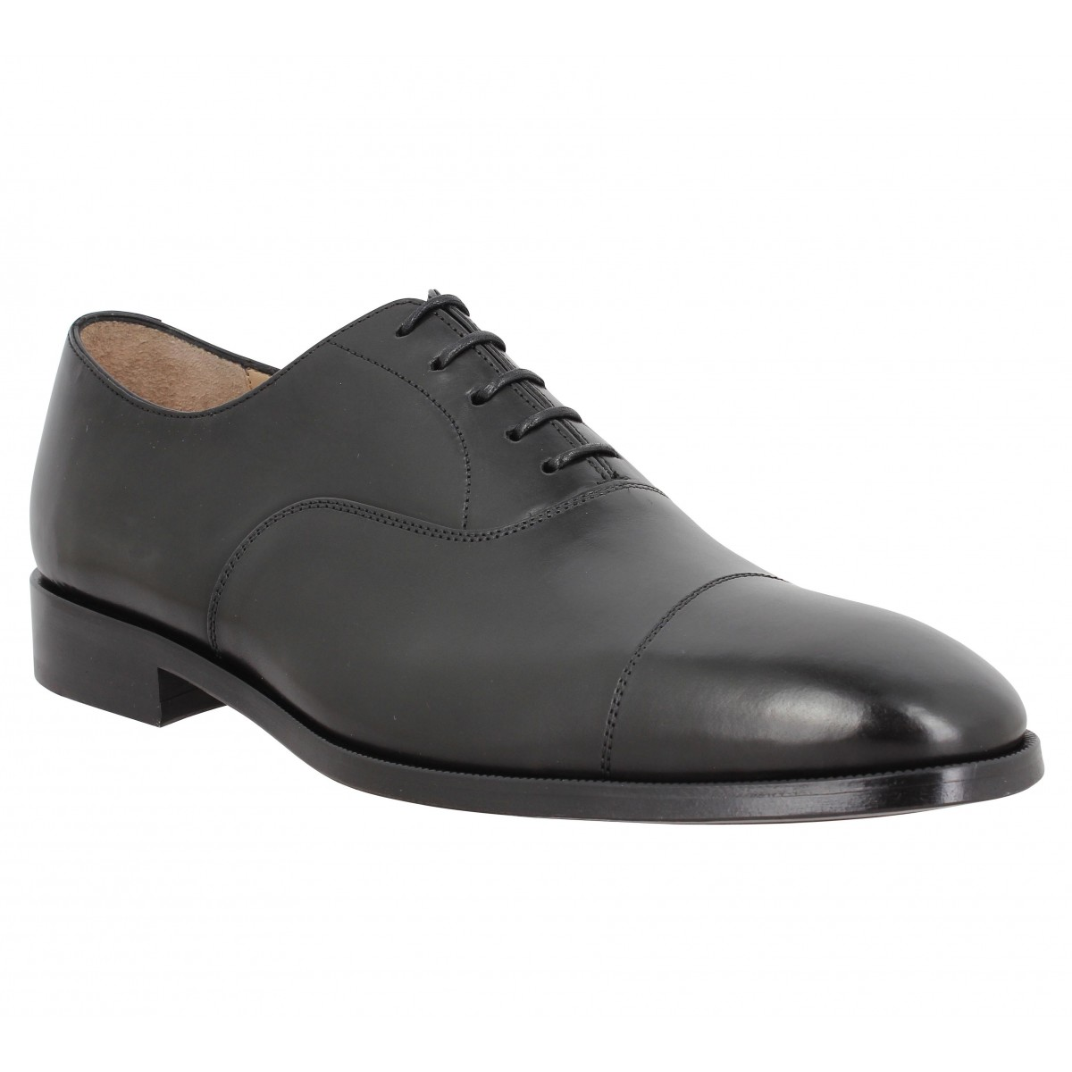 Paul Smith Homme Samo Cuir-40-noir