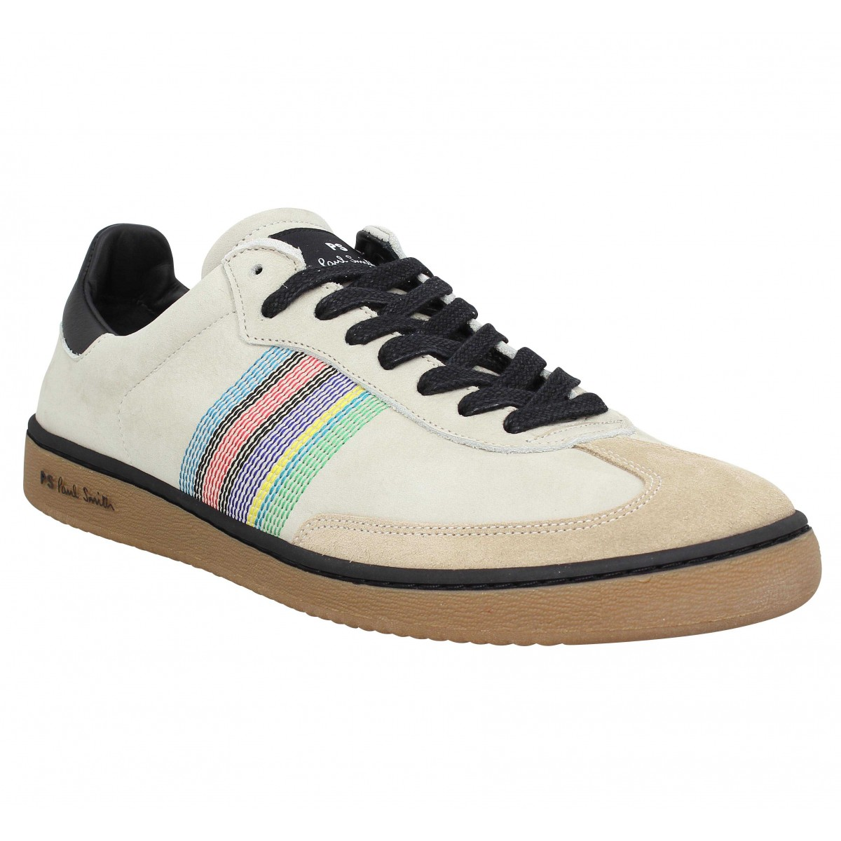 Baskets PAUL SMITH Yuki nubuck Homme Beige