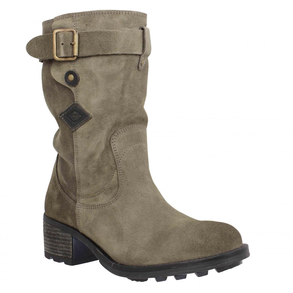 chaussure palladium femme bottine