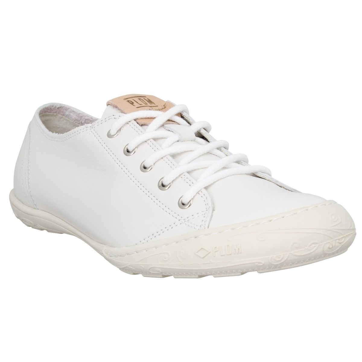 Baskets PLDM by PALLADIUM Game VTO cuir Femme Blanc