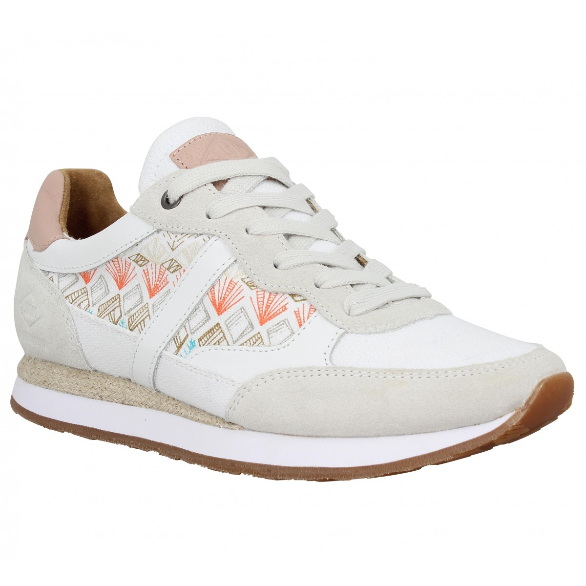 Baskets PLDM by PALLADIUM Segundo Mix Femme Blanc
