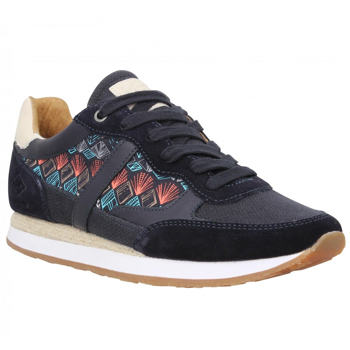 Baskets PLDM by PALLADIUM Segundo Mix Femme Marine