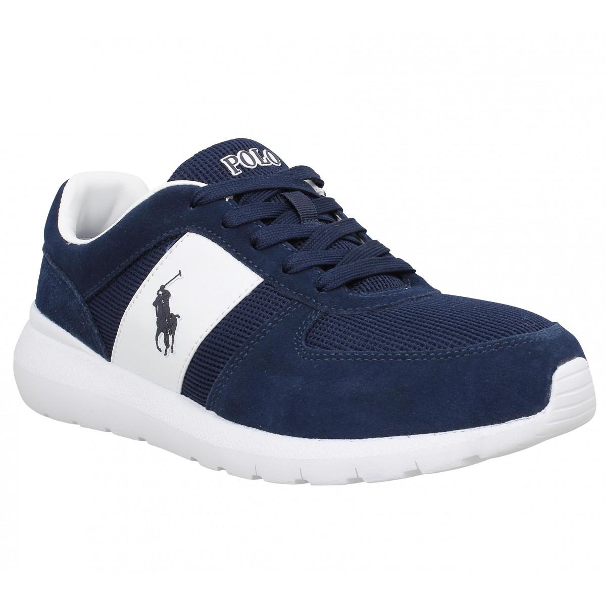 Polo ralph lauren cordell marine homme   Fanny chaussures 3e85ed027e2a