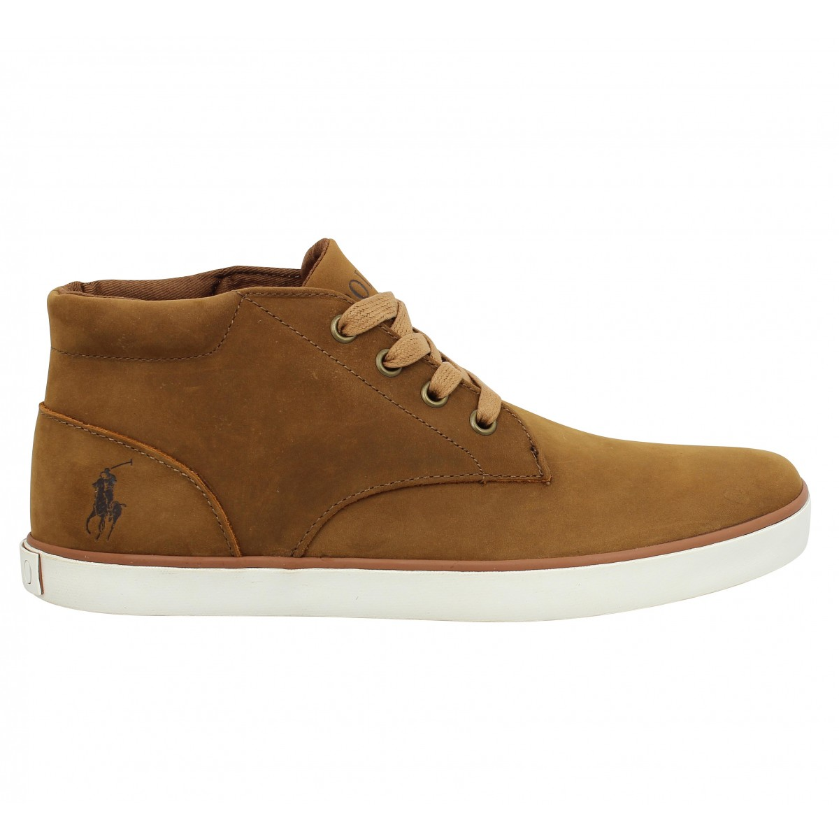 Chaussures Polo ralph lauren odie cognac homme   Fanny chaussures a1453fac9c3