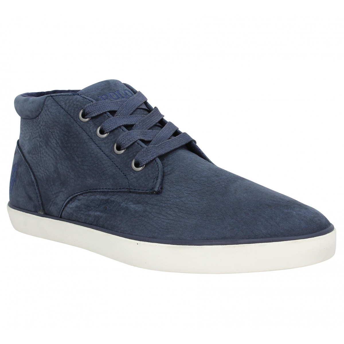 Baskets POLO RALPH LAUREN Odie nubuck Homme Navy