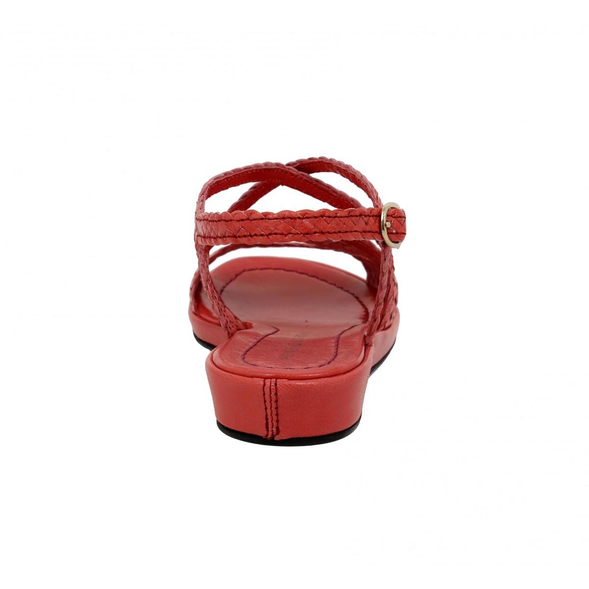 Tresse Cuir Femme Alma Quintana FraiseFanny Pons Chaussures UMVSzqp
