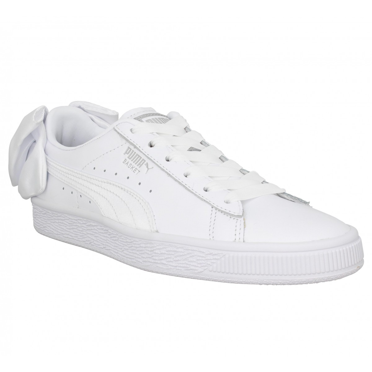 chaussures puma blanches femme
