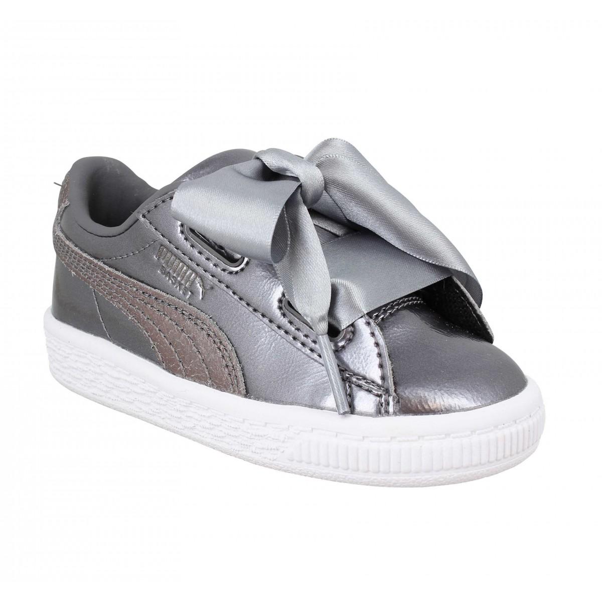 baskets puma pour enfant pas cher mes chaussures. Black Bedroom Furniture Sets. Home Design Ideas