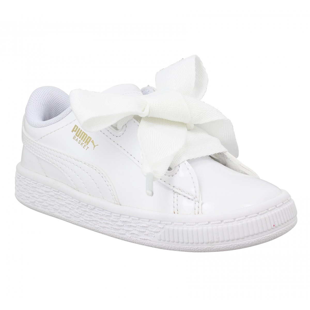 puma basket heart how to lace