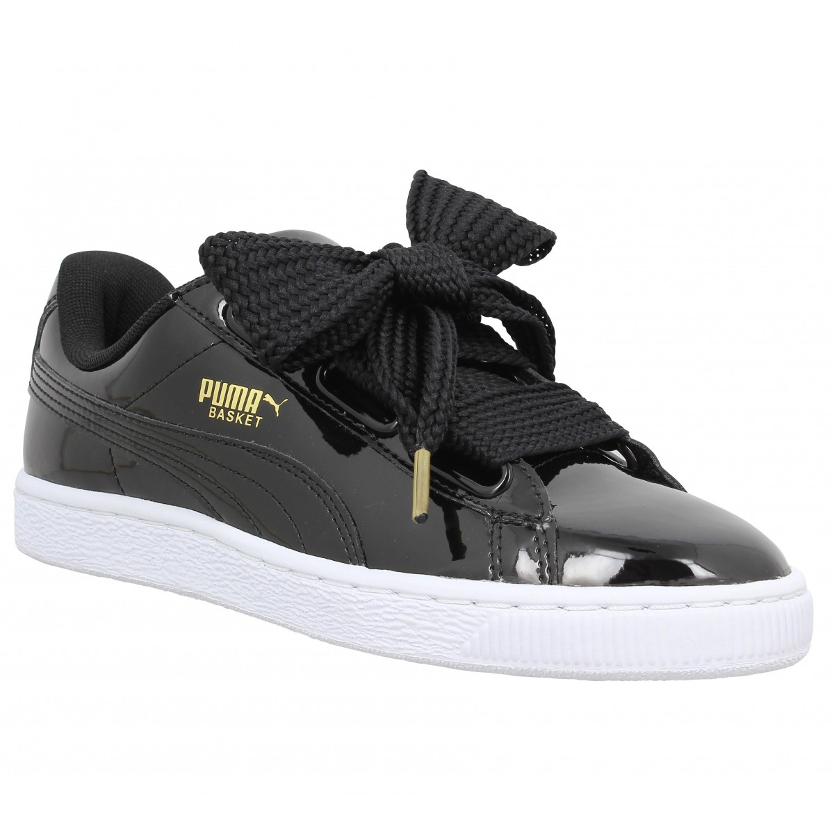 puma suede heart grise 37