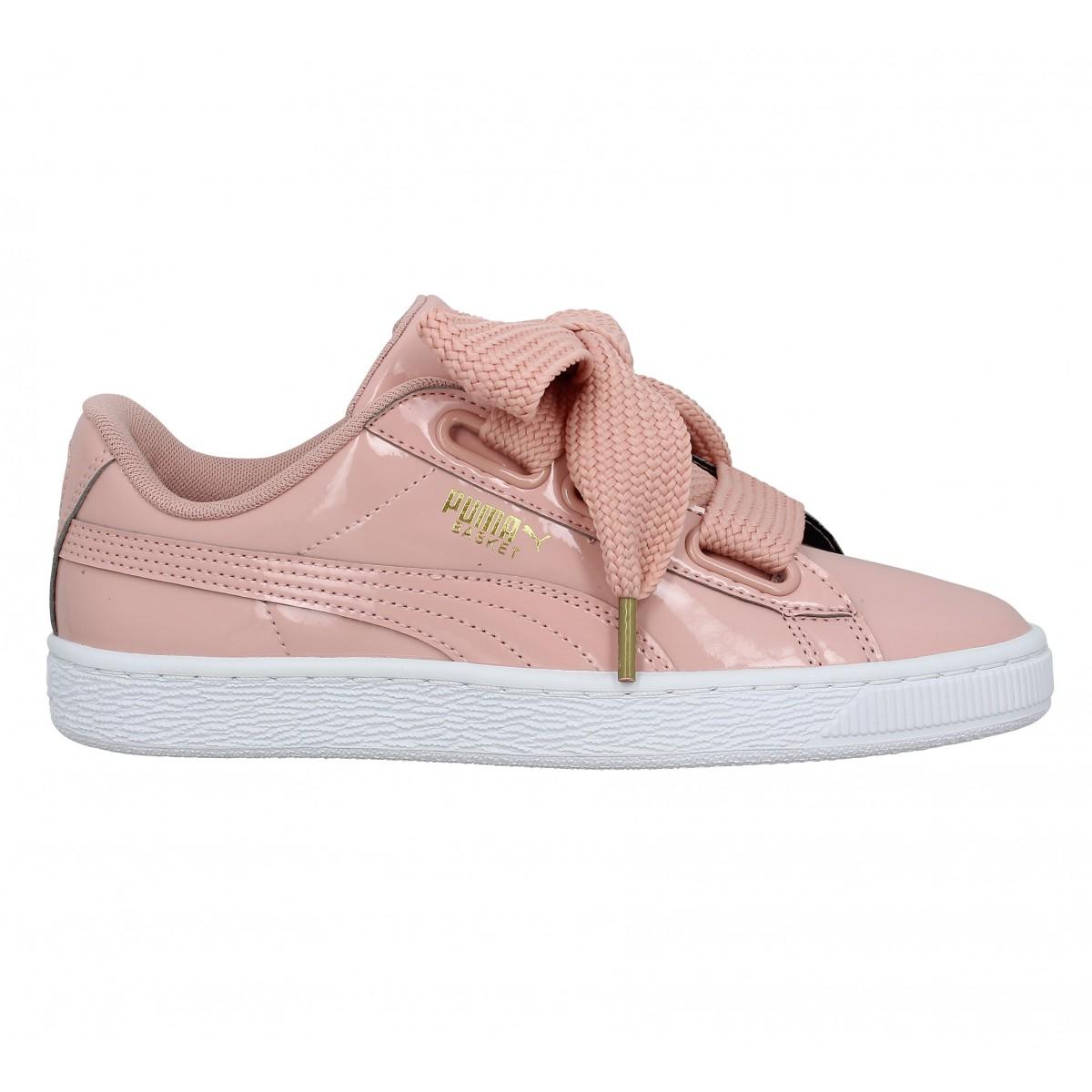 Chaussures à élastique Puma roses femme so0Eovmn