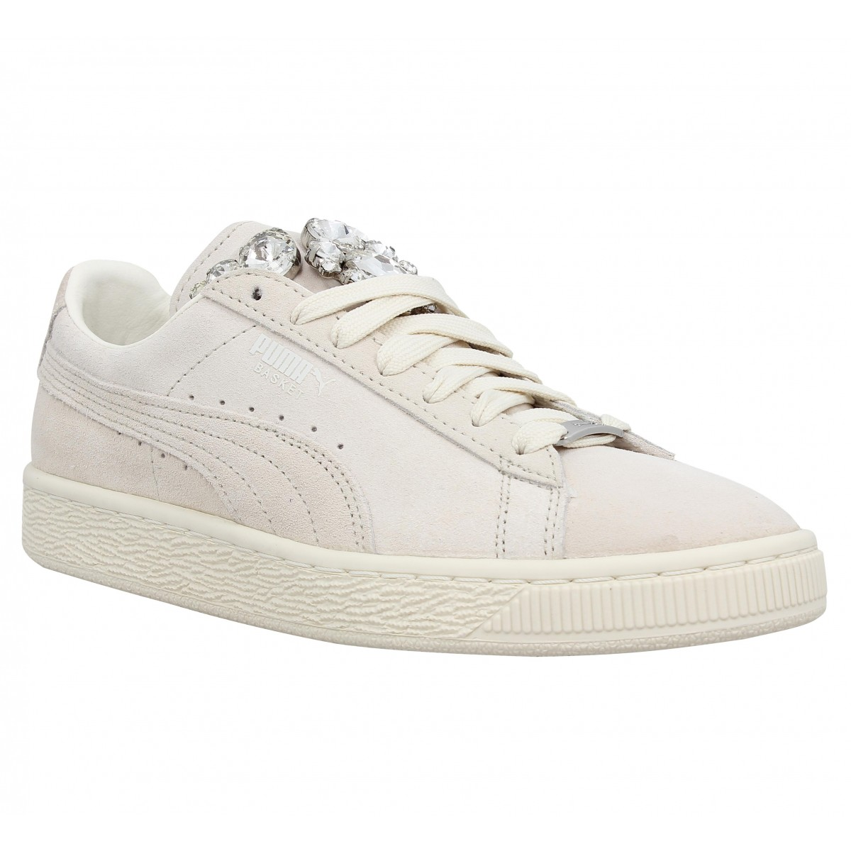 Puma Puma Puma Basket Jewels-39-blanc