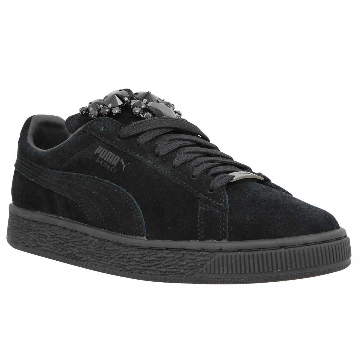 Baskets PUMA Basket Jewels Noir