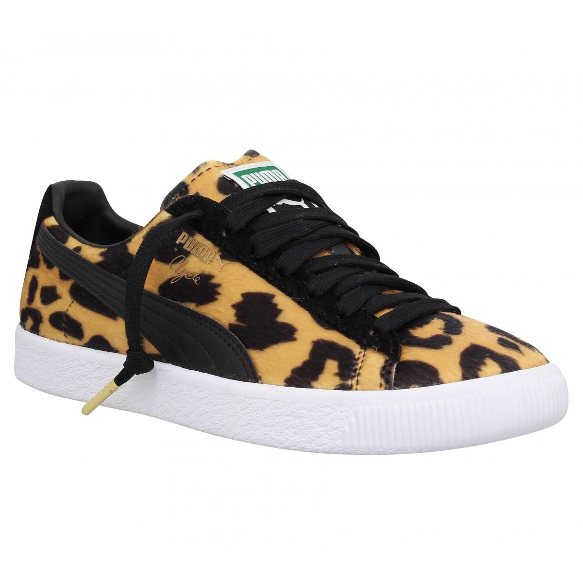 basket puma leopard