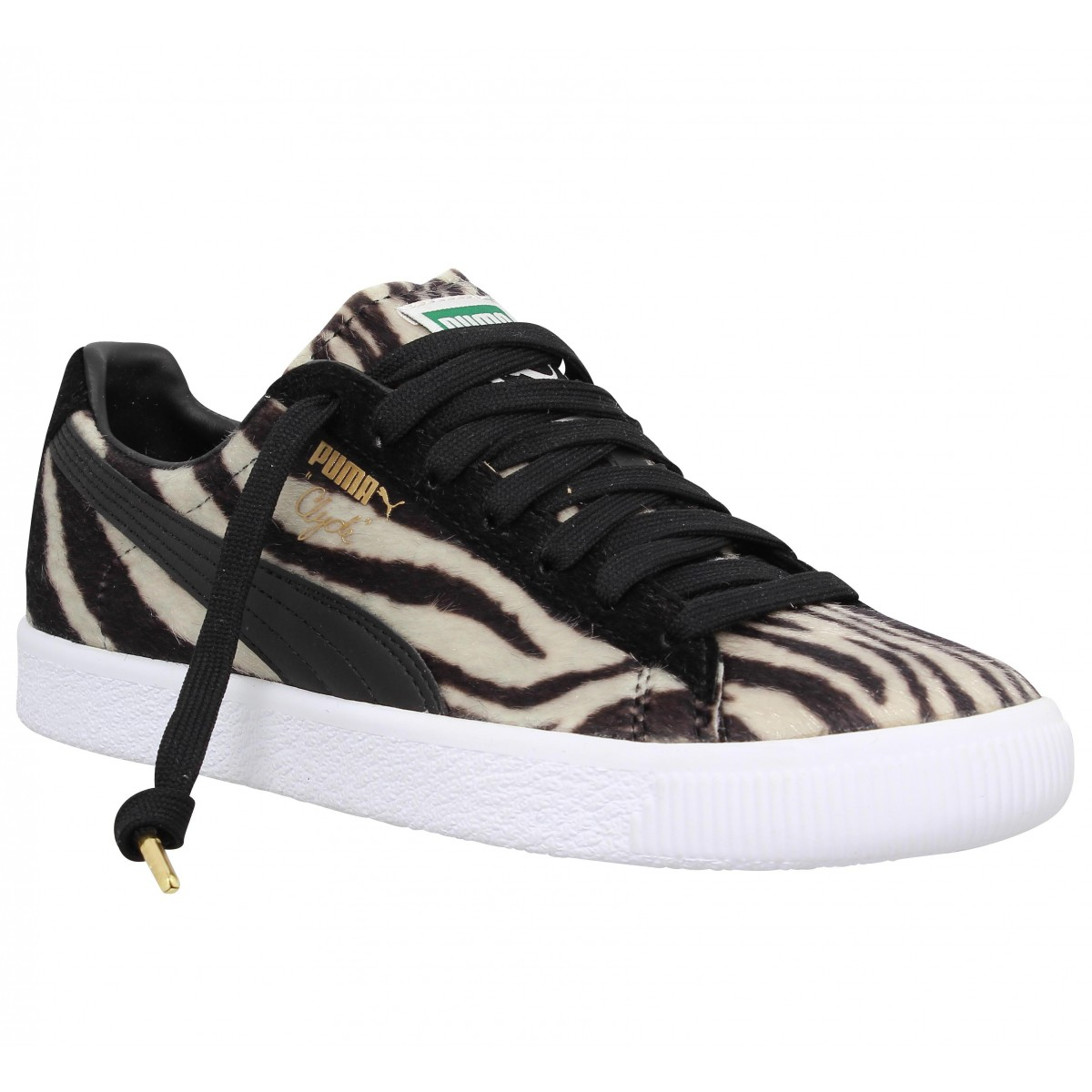 Baskets PUMA Clyde Suits Zebre