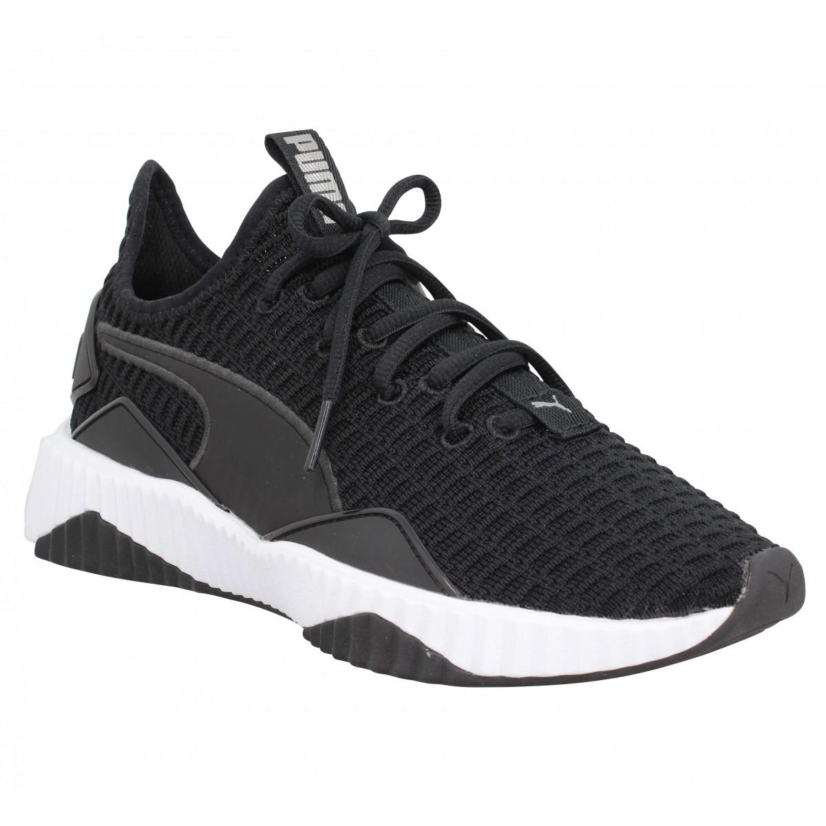 chaussures puma noir femme