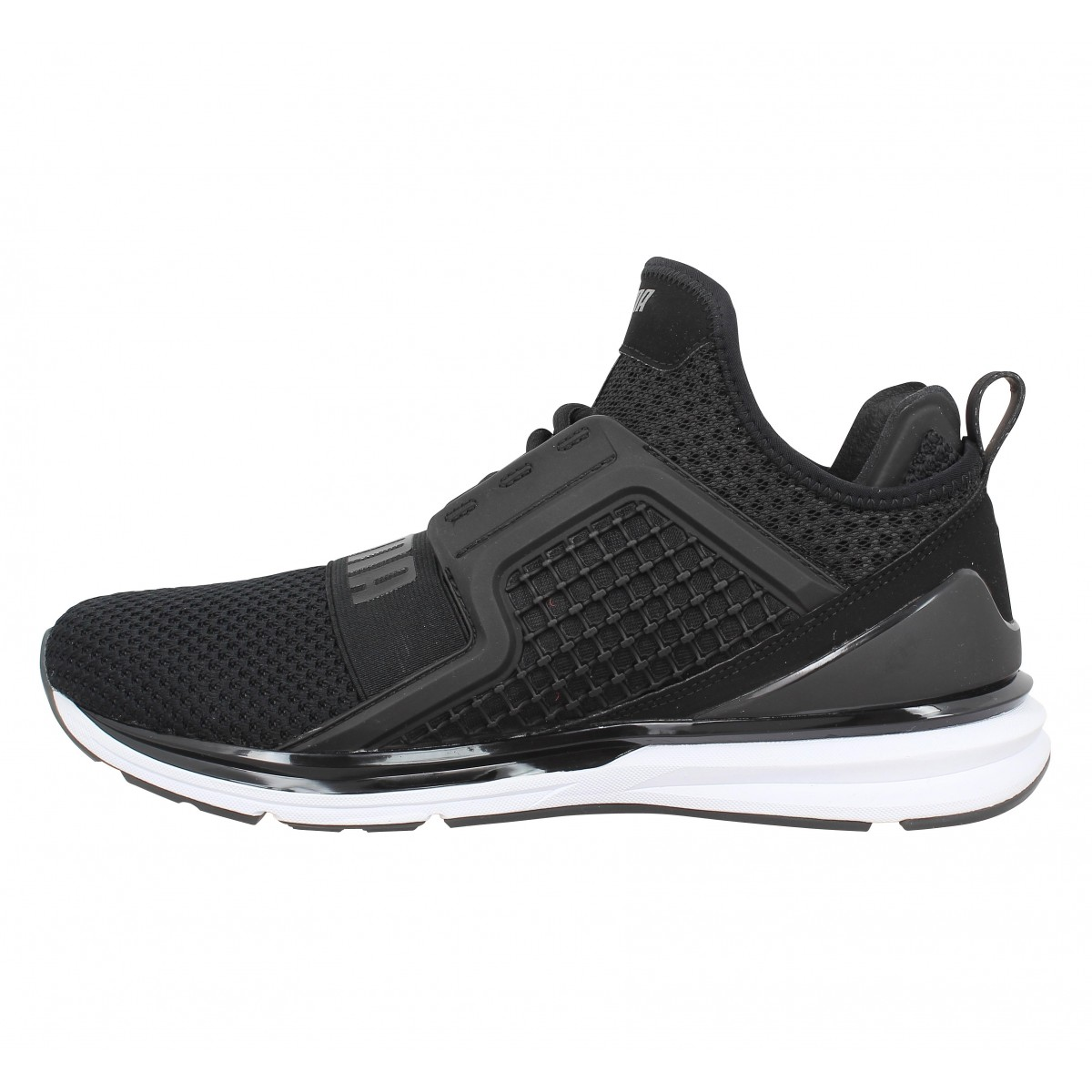 Chaussures Puma ignite limitless weave toile homme noir homme ...