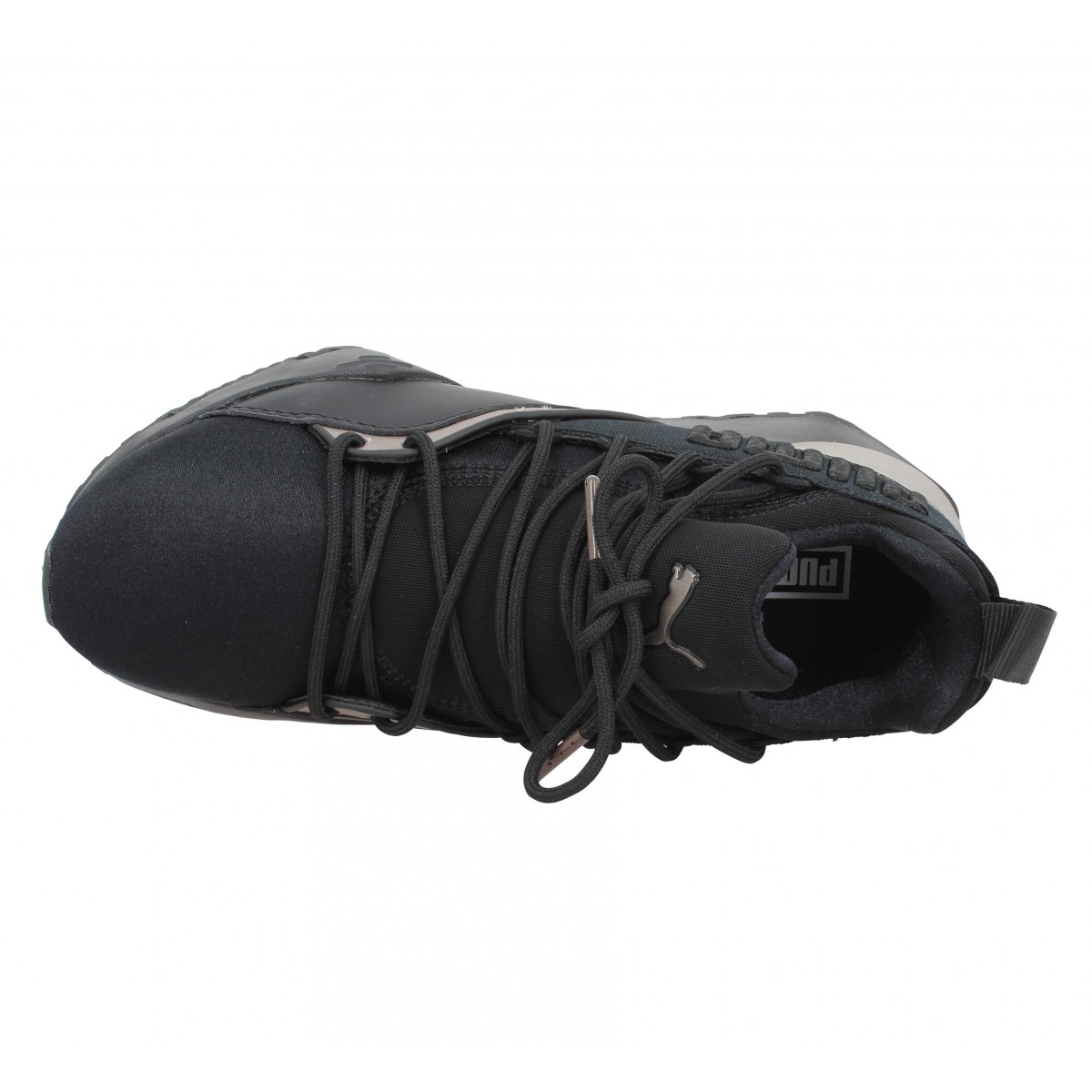 Puma Fanny Luxe Muse Femme Wq1wxxzig Maia Noir Chaussures Toile TwfBOcPEqx