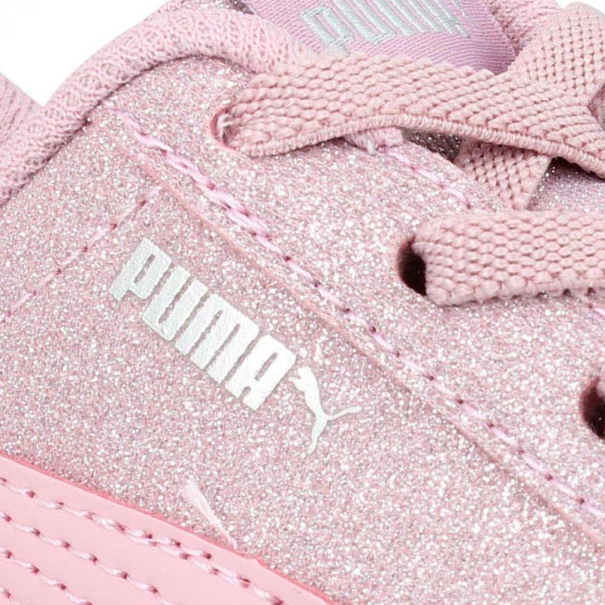 PUMA Puma Vikky Glitz textile Enfant Rose