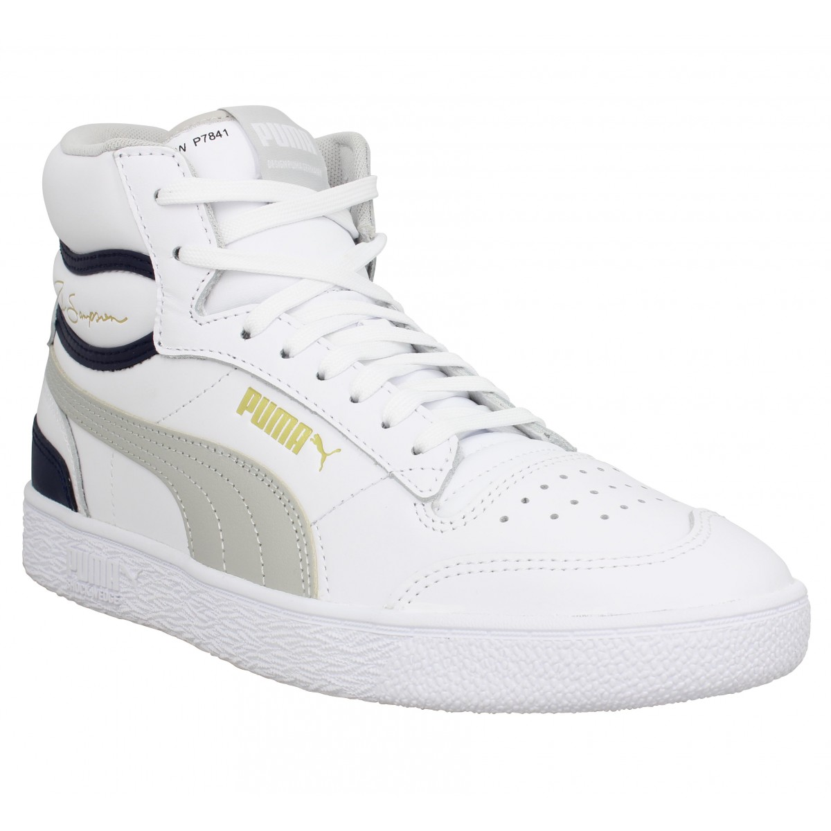 puma chaussures hommes blanche
