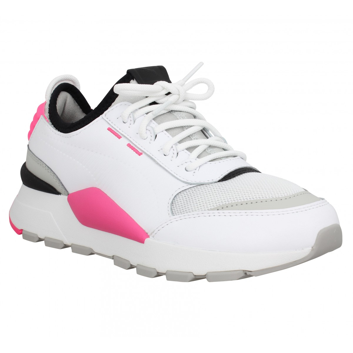 779c1b2a6b9 Baskets PUMA RS-0 Sound toile Femme Blanc