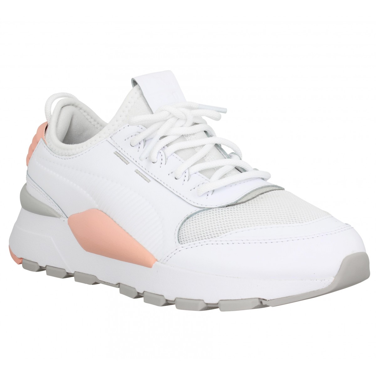 Toile Blanc Puma Rs 0 Sound Rose Femme XZiTPuOk
