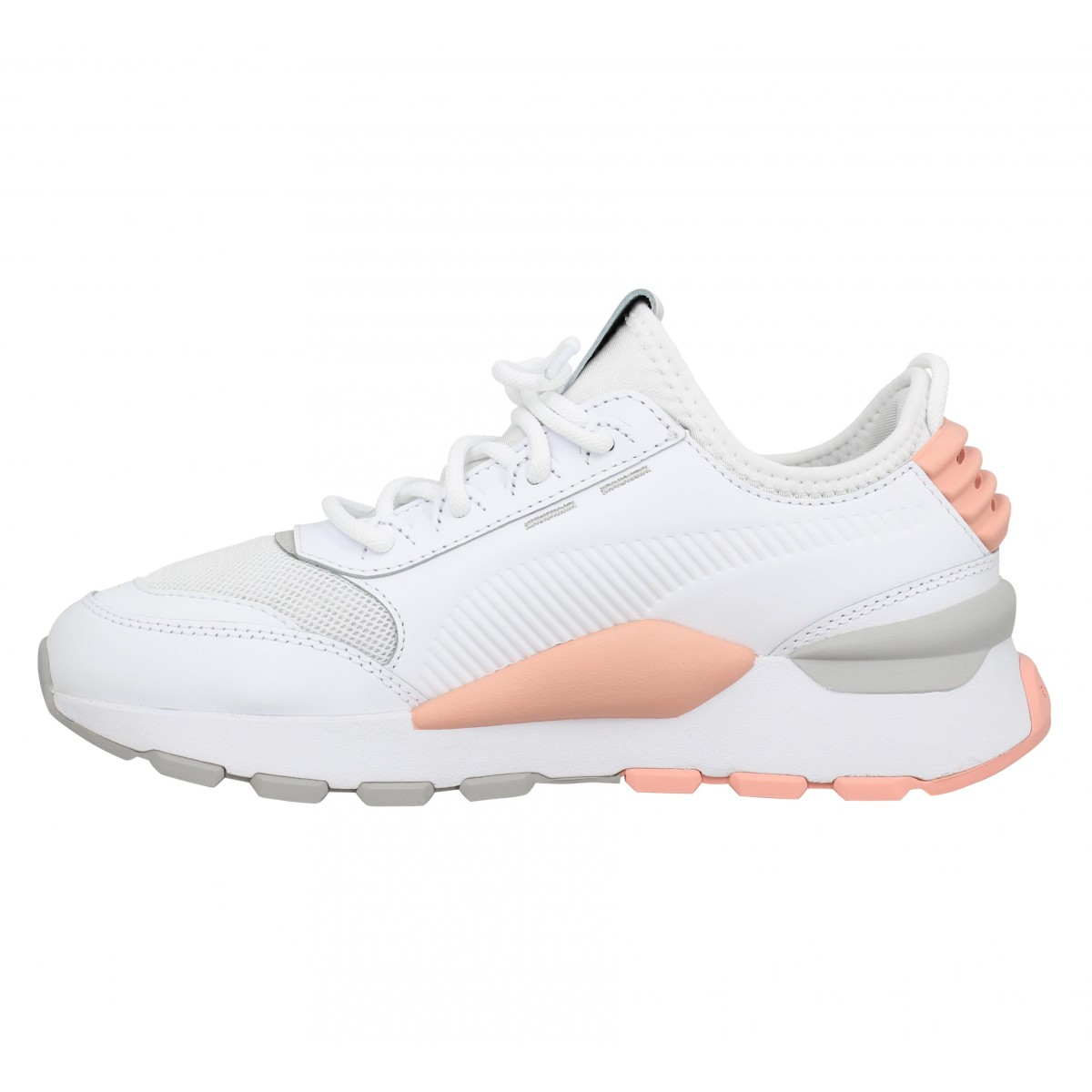 PUMA RS 0 Sound toile Femme Blanc Rose
