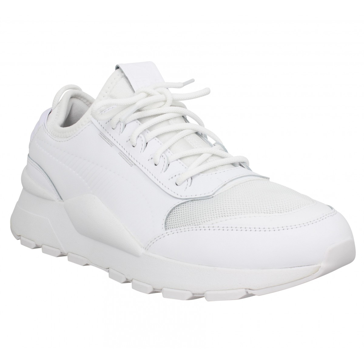 Puma Homme Rs-0 Sound Toile -45-blanc