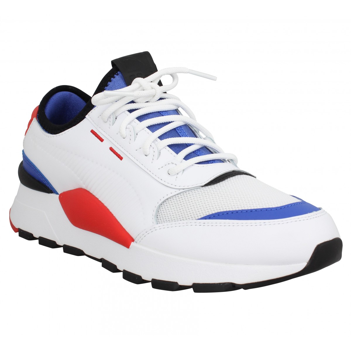 Puma Homme Rs-0 Sound Toile -43-blanc...
