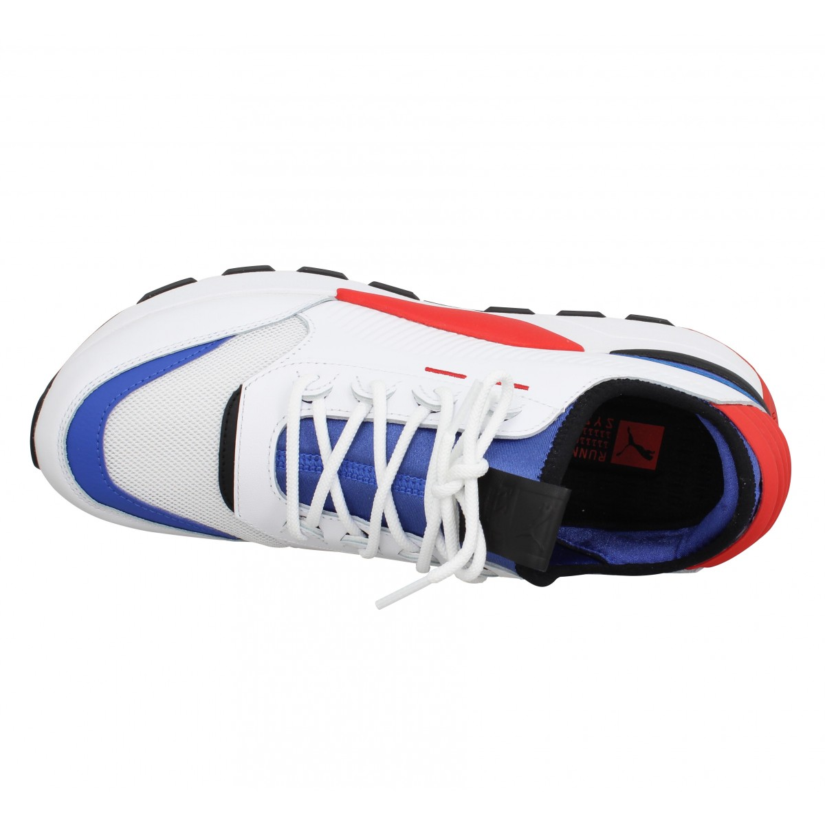 PUMA RS 0 Sound toile Homme Blanc Rouge