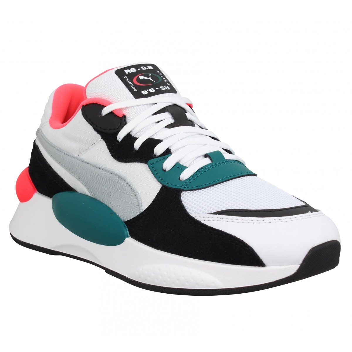 Baskets PUMA RS 9.8 Space toile Femme Blanc