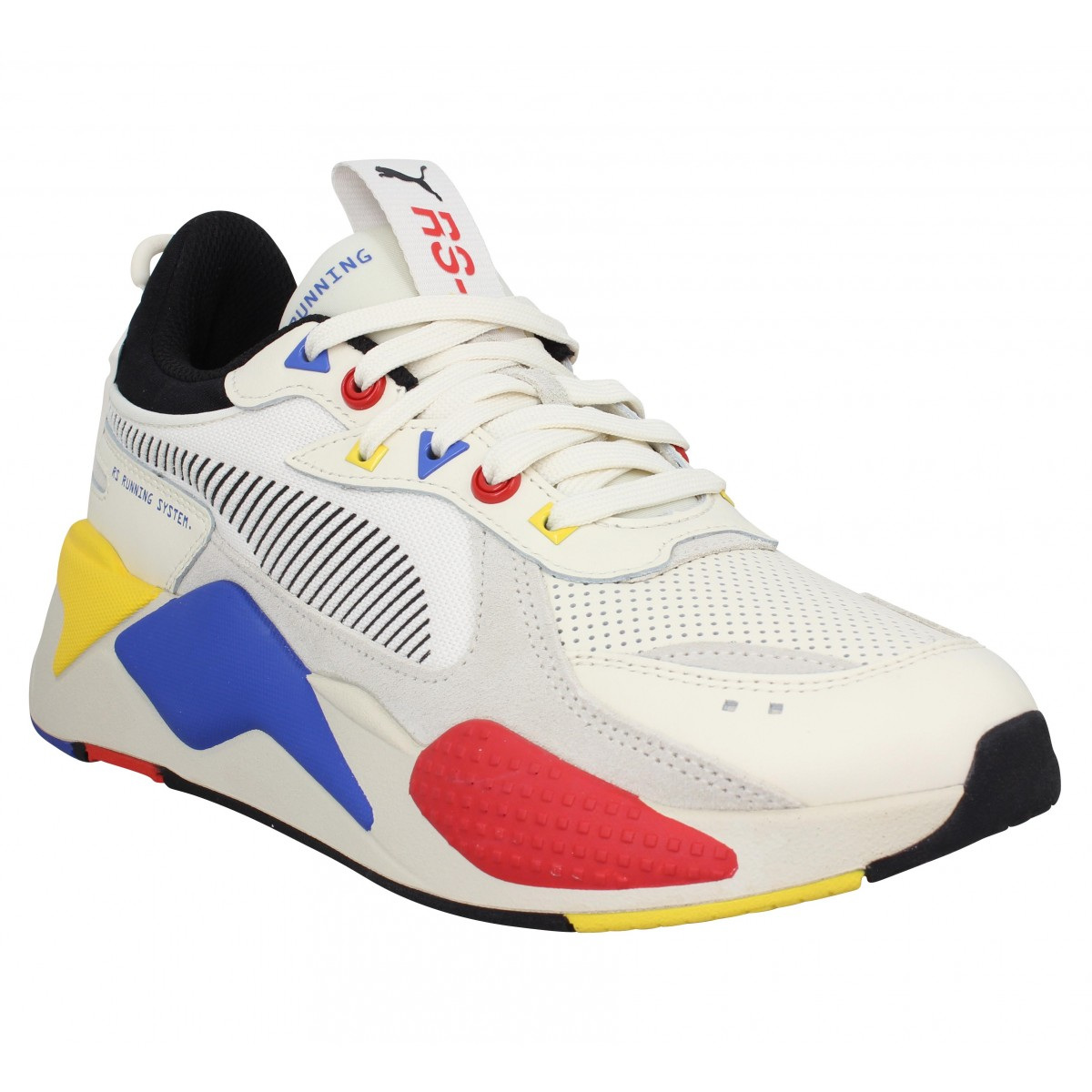 Baskets PUMA RS-X Colour Theory toile Homme Blanc
