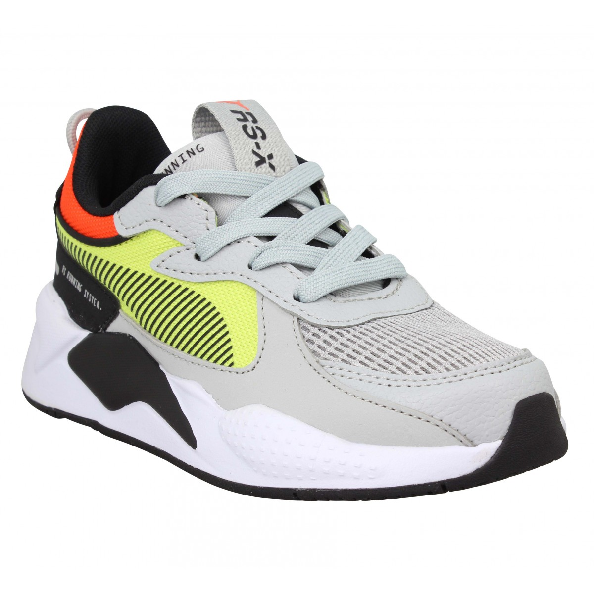 Baskets PUMA RS-X Hard Drive toile Enfant Gris