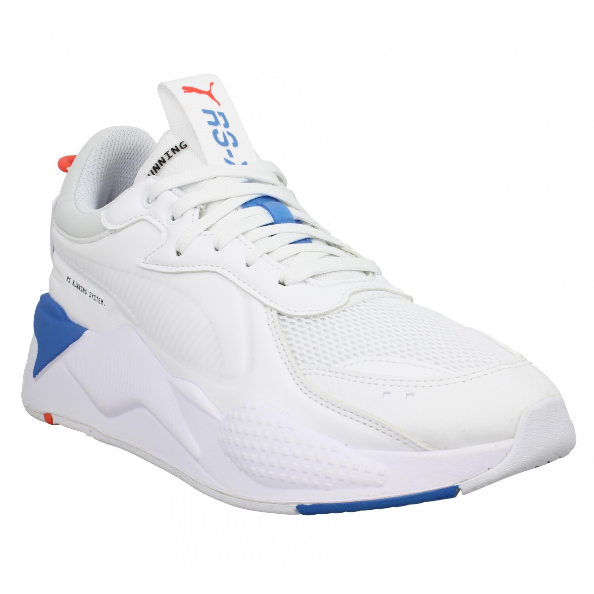 Baskets PUMA RS-X Master toile Homme Blanc