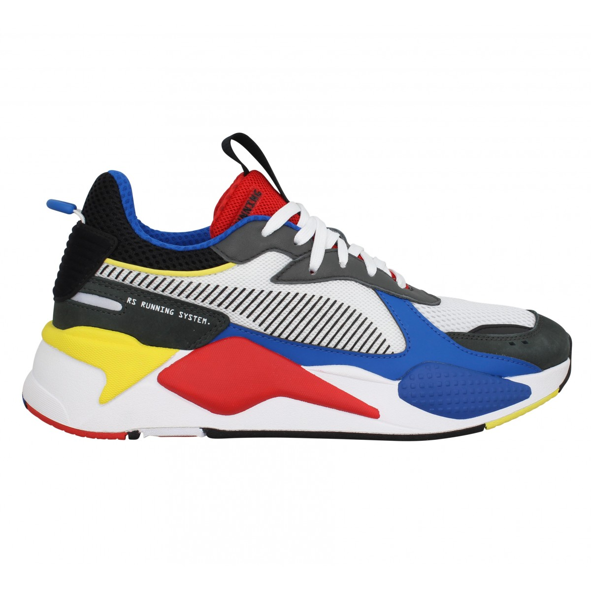 Puma rs x toys toile homme blanc rouge homme | Fanny chaussures
