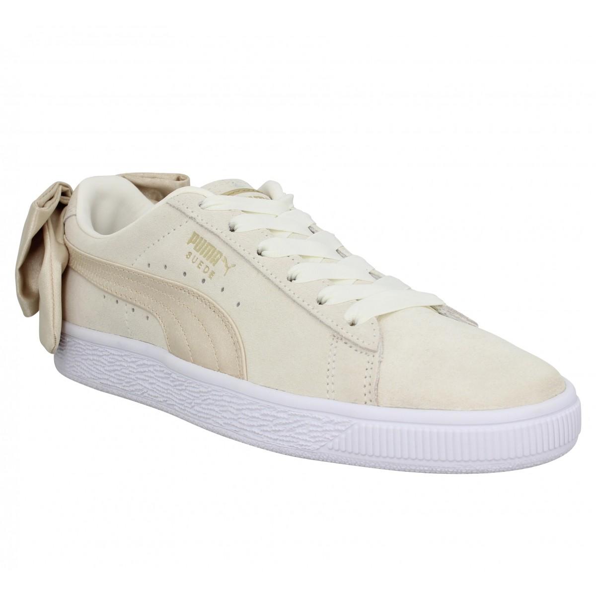 chaussures puma suede femmes