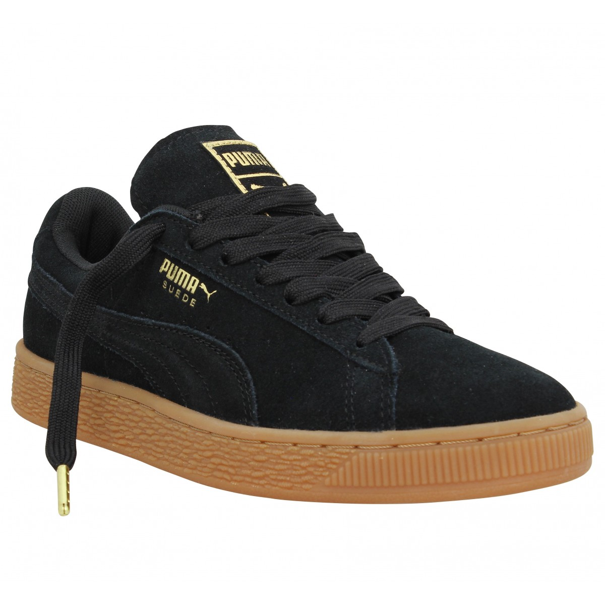 puma suede femme noir. Black Bedroom Furniture Sets. Home Design Ideas