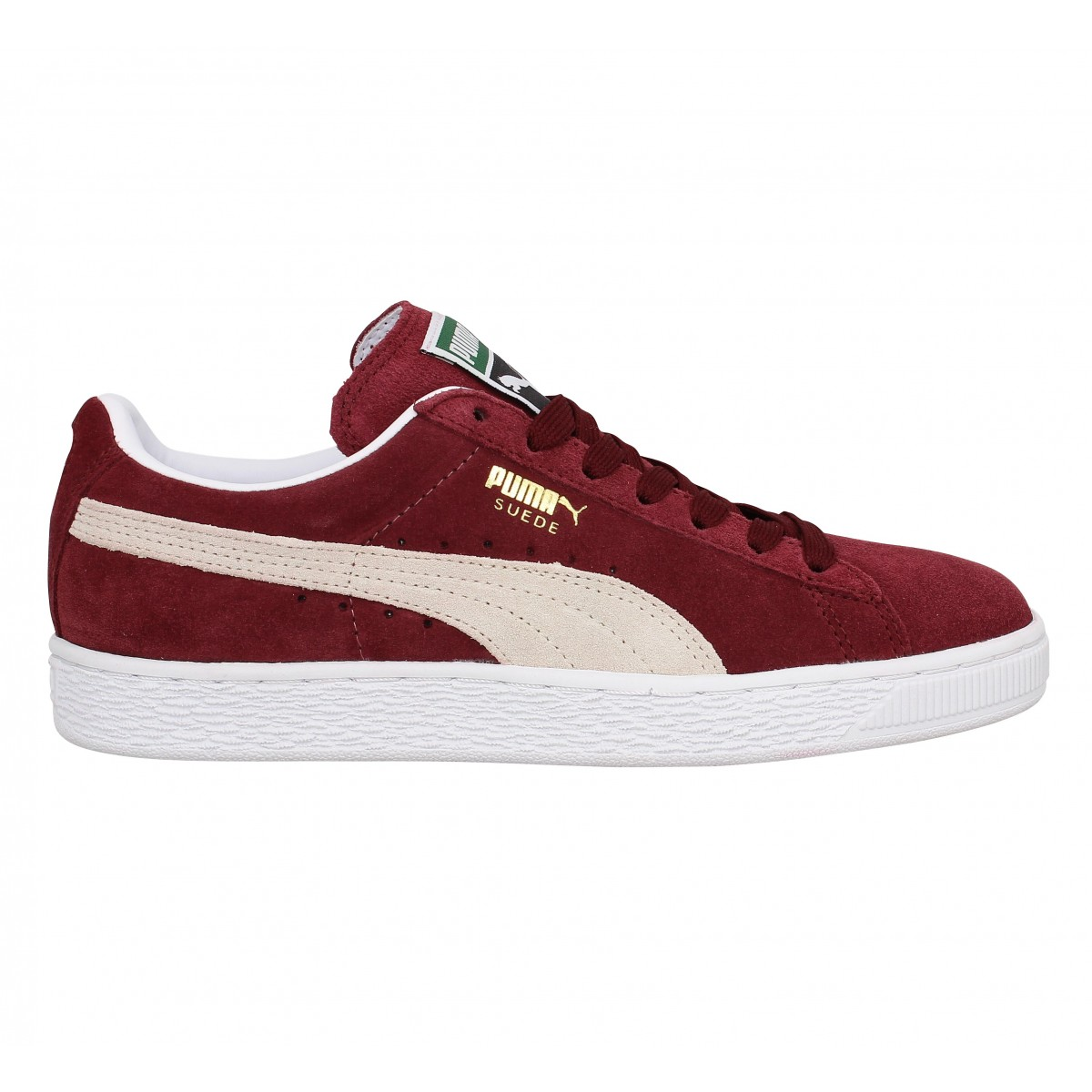ebe71036a9506 Puma suede classic velours femme cameo brown femme   Fanny chaussures