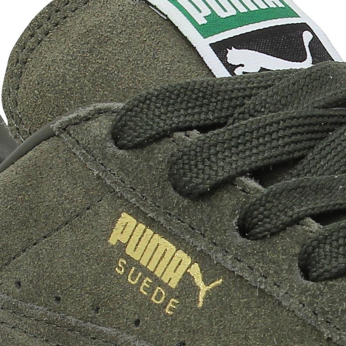 PUMA Suede Classic velours Forest Night