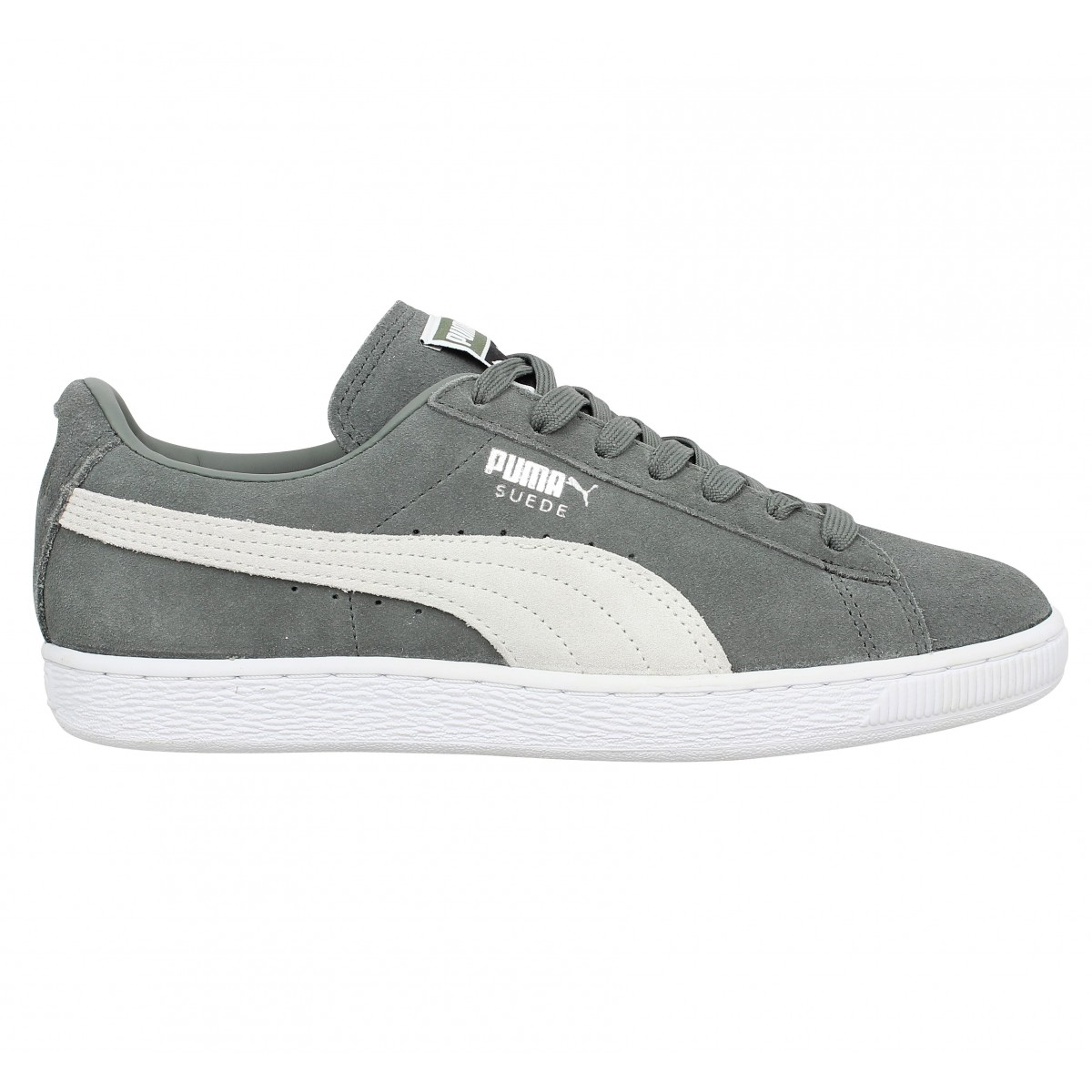 PUMA Suede Classic velours Homme Agave