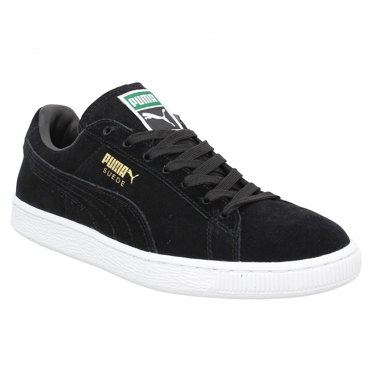 Baskets PUMA Suede Classic velours Black